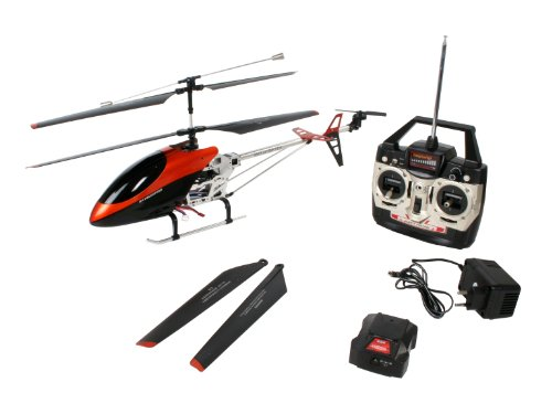 Revell Half-baked 24056 - RC-Modell The Big One' Discerning-to-Fly Helicopter mit Gyro-Classification