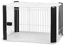 Cage métallique pour Chiens Iris avec Toit grillagé