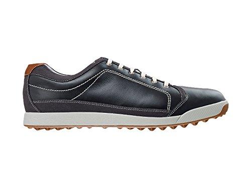 FootJoy Contour Herren Casual Schuhe Negro / Negro / Marrón