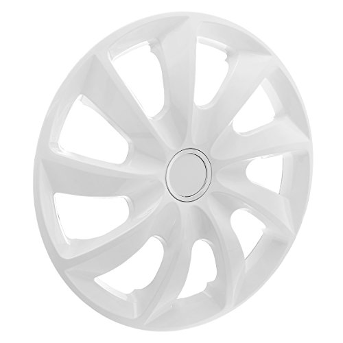 "KN18 Enjoliveurs 16"" - Blanc - 4 pieces - 5902538486347"