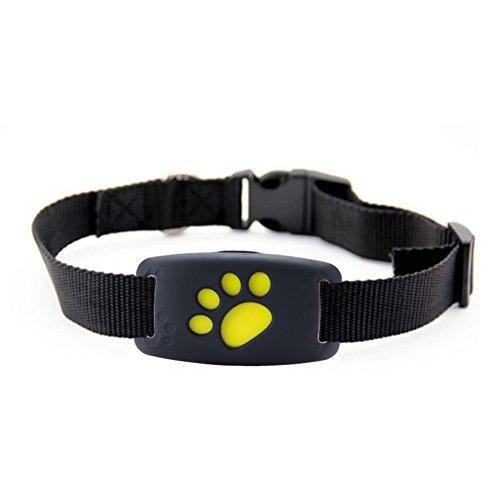 Favourall Smart Finder Smart Drahtlose WIFI Bluetooth 4.0 Tracer GPS Ortungsgerät GPS Locator Tracking Tag Alarm Brieftasche Schlüssel für Haustier, Hunde und Katzen - wasserdichter mini Tracker - der Sender fürs Halsband (Smart Zaun)