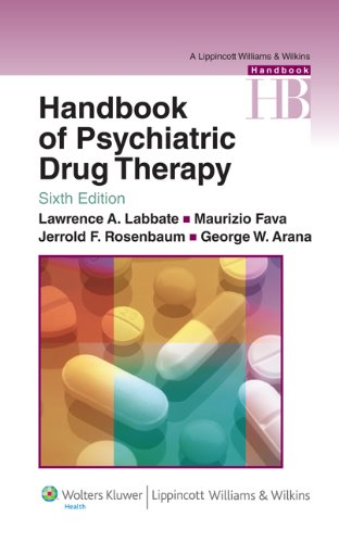 Zoom IMG-2 handbook of psychiatric drug therapy