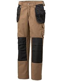 Helly Hansen Workwear 34-076454-769-50 - Pantalones, unisex, color khaki/schwarz, talla 46