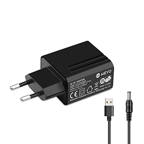 WEYO 5V 2.5A 2500mA 3000mA 3A Netzteil USB Ladegerät AC Adapter für Android Tablet PC, Snom Desk Telephones, Sony PSP -