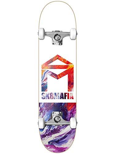 """Unbekannt Sk8mafia House Logo Oil Low 8.0\"""" Complete Skateboard"""