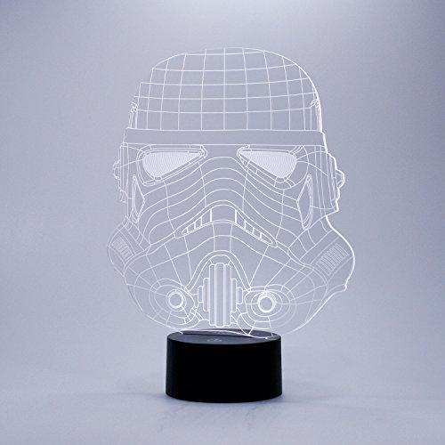 Thumbs Up Original Stormtrooper Drahtmodell-Licht, Kunststoff, transparent