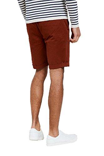 Threadbare Herren Chino Short rot rot Rust - Red