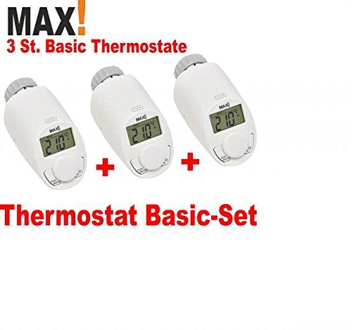 MAX! Basic - Heizkörperthermostat 3er Set