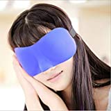 2016 New 3D Portable Soft Travel Train Airplane Sleep Rest Aid Eye Mask Cover Eye Patch Sleeping Mask Case ing