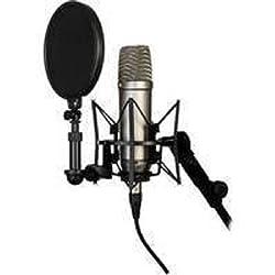 Rode NT1A - Microfono, color plateado, 1 unidad