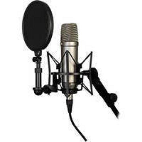 RODE NT1A microfono a diaframma largo per studi di registrazione / podcast, cavo, supporto, filtro anti pop omaggio