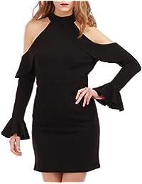 La Modeuse - Robe robe courte à épaules dénudées