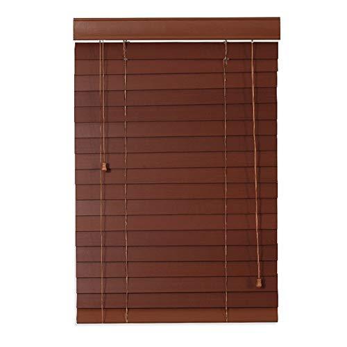 ZEMIN Jalousien Bambusrollo Sichtschutz Fenster Raffrollos Prägnant Staubdicht Schattierung Drinnen Holz, Größe Anpassbare (Color : A, Size : 100x225cm)