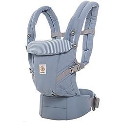 Ergobaby Babytrage Kollektion Adapt (3,2-20 kg), Azure Blue