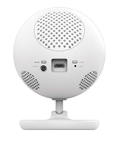 D-Link DCS-800L/P EyeOn Pet Monitor, per Monitorare il Tuo Animale Domestico, con Visore Notturno, Rilevamento Suoni e Movimenti, Audio Bidirezionale, Bianco
