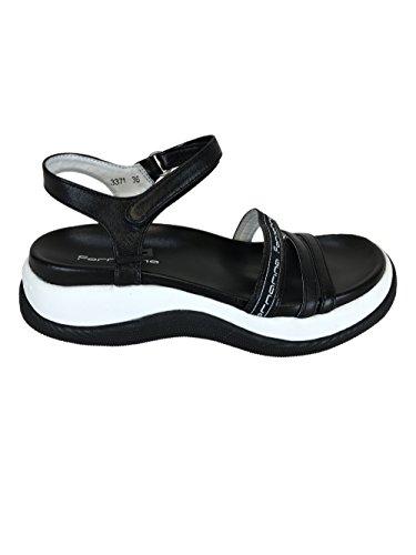 Fornarina , Chaussures à brides femme Noir