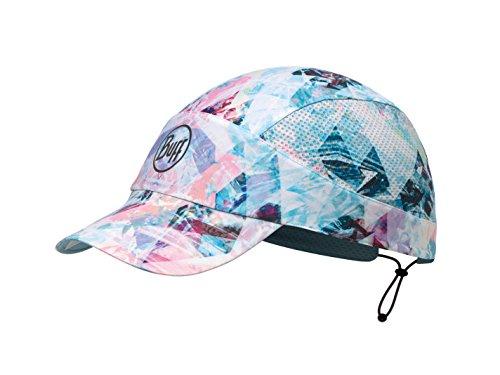 Pastell Schatten (BUFF CAP, Schirmmütze mit Schild und 98% UV-Schutz Irised mit Reflektor, pastell, one size)
