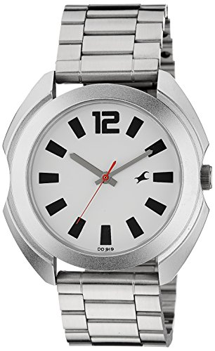 41NaqZvs8QL - 3117SM01 Fastrack Casual Silver Mens