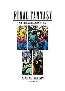 + otras  videojuegos: Final Fantasy Ultimania Archive Volume 3