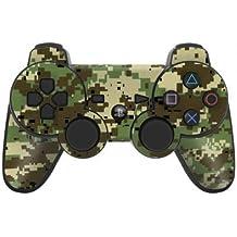 Sony Playstation 3- Lámina protectora adhesiva para mando de PS3, Dig. Woodland Camo