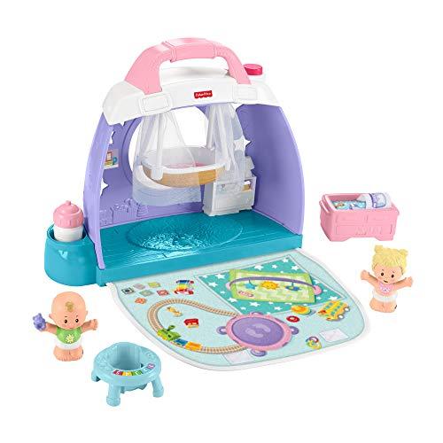 Fisher Price Little People Bebés Nursery (Mattel Gkp70)