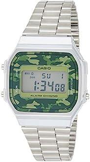 Casio A168WEC-3EF for Unisex (Digital, Casual Watch)