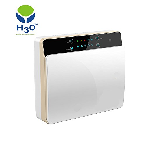 H3o-wall Mounted Air Purifier-rapid Purification Of Air & High Efficiency Composite Hepa Filter