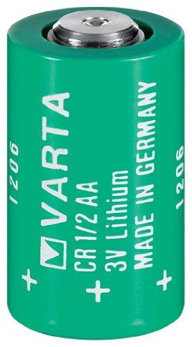Varta CR 1/2 AA Lithium Batterie (3,0V, 950 mAh)