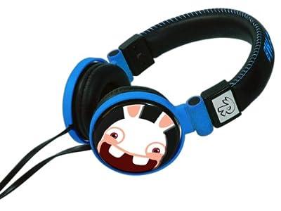 Raving Rabbids Gamer Headphones - Blue/Black (Nintendo 3DS/DSi/DSi XL) by GameOn