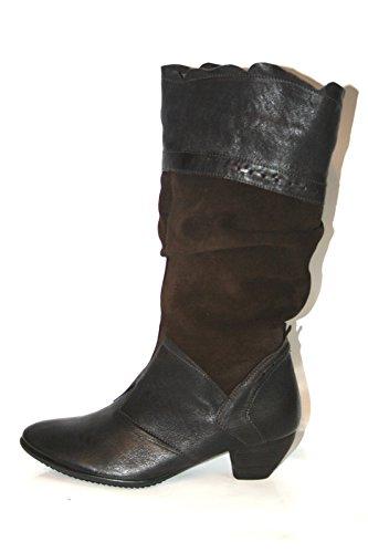 Think aha 7-87196 chaussures bottes femme Noir - Braun (espresso/kombi 42)