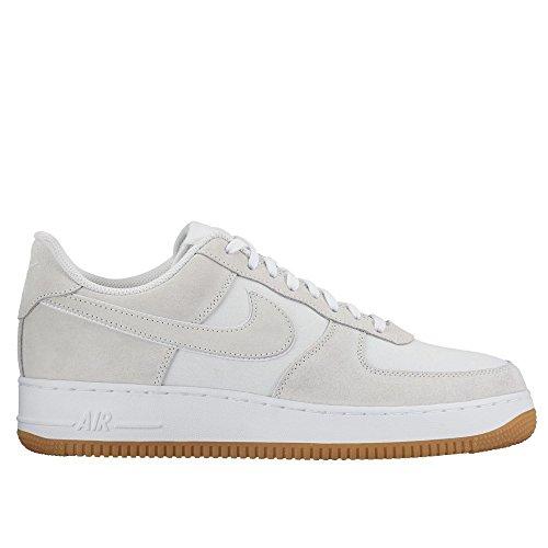 Nike Air Force 1 Sneaker Turnschuhe Schuhe für Herren Weiß (Off White/White)