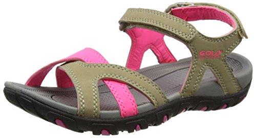 gola-cedar-sandales-de-randonnee-femme-beige-taupe-hot-pink-38-eu