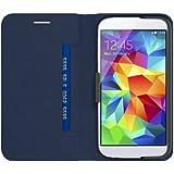 Belkin F8M921B1C01 Wallet Folio (geeignet für Samsung Galaxy S5) blau