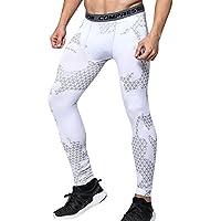 ZhuiKun Térmicas de Compresión Leggings Polainas Apretadas Larga Base Capa Pantalones de Correr para Hombre