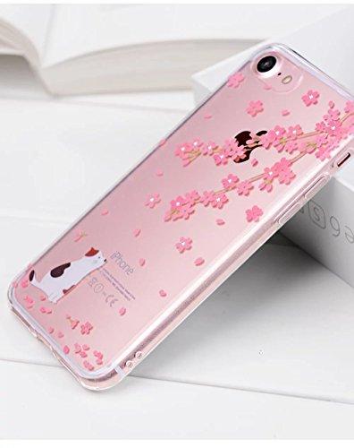iPhone 7 Hülle, iPhone 7 Schutzhülle, Vandot Handyhülle für iPhone 7 Handytasche (4.7 Zoll) TPU Sillikon Diamant Bling Kristall Transparent Muster Case Cover Glänzend Malerei Durchsichtig Thin Pattern Color 29