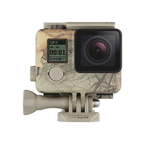 gopro-ahcsh-001-carcasa-camuflada-quickclip-realtree-xtra-woodland-camouflage