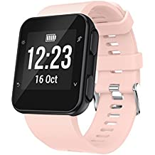 Malloom Reemplazo Pulsera Reloj Pulsera Banda Correa Silicagel Correa Suave para Garmin Forerunner 35 Watch (