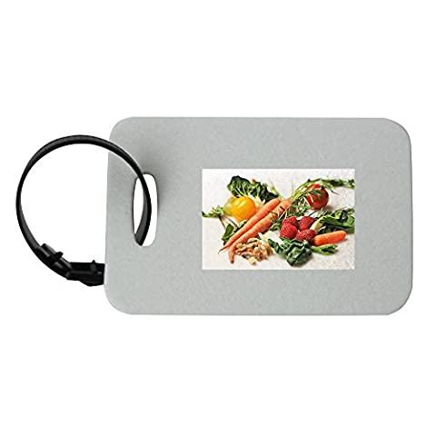 Carrot, Kale, Walnuts, Tomatoes luggage tag