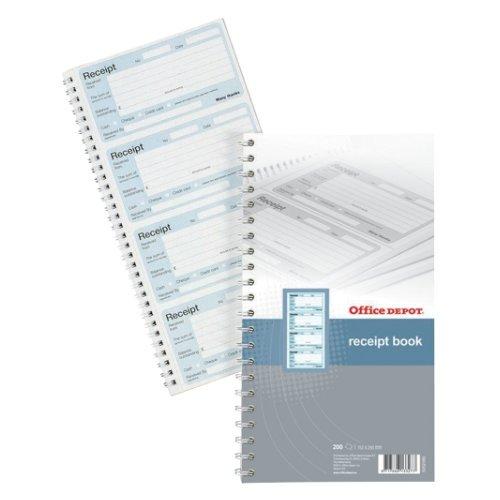 office-depot-receipt-book