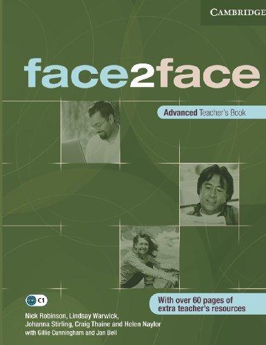 face2face Advanced Teacher's Book by Nick Robinson (2009-09-21)