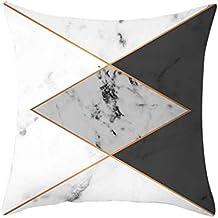 Rovinci_Fundas de almohada ¡Gran promoción Textura de mármol con Textura de mármol Funda de cojín