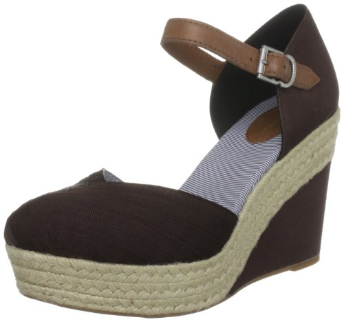 T.O.M. The Selina - Sandalias cuña, Color Brown, Talla 39.5