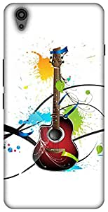 The Racoon Grip printed designer hard back mobile phone case cover for Oneplus X. (Colours Of)