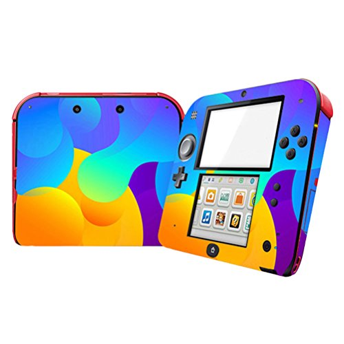 Zhhlinyuan Vinyl Decals Protective Case Nintend 2DS