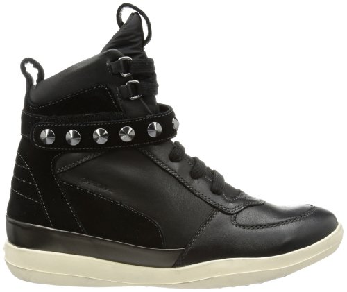 Geox D HYPERSPACE A D3427A04322C9999 Damen Sneaker Schwarz (BLACK C9999)