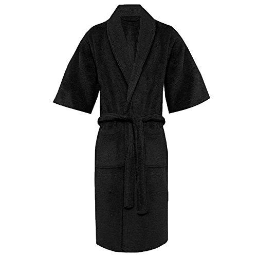 Royal Comfort - Robe de chambre - Femme Noir