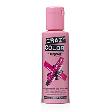 renbow crazy color semi permanent hair color cream pinkissimo no42 100ml amazoncouk beauty - Crazy Color Pinkissimo