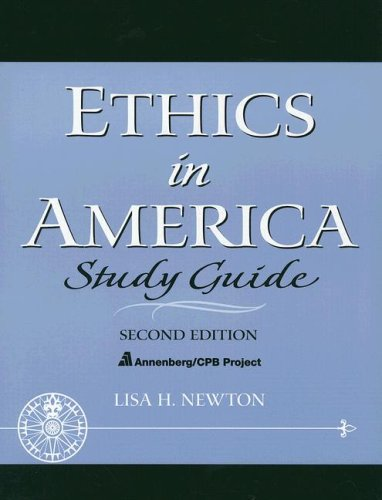 Study Guide: ETHICS AMERICA S/G _p2 (College Television Course and Prime Time Television)
