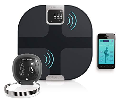 Rowenta YD3091 Body Partner Shape Bilancia Pesapersone Wireless Smart Connessa al Cellulare,...