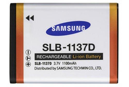 Samsung Li-Ion Akku SLB-1137D für Samsung L74w, NV11, i85 (Memory Camcorder Samsung)